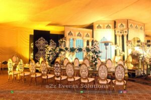 catering company in lahore, vip setup