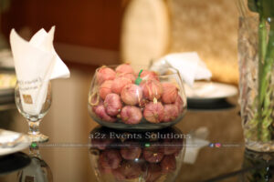 decor experts, food suppliers