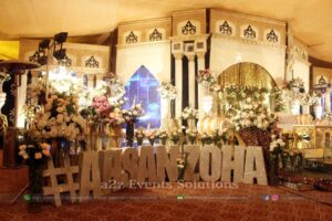 creative designers and planners, wedding stages