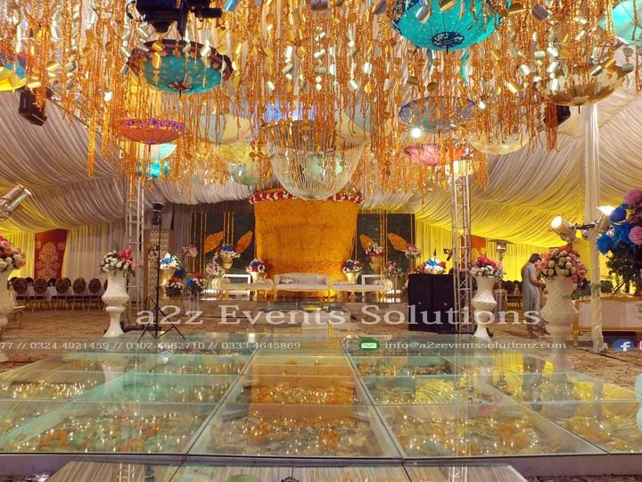 event planners and designers in lahore, best wedding setup decor