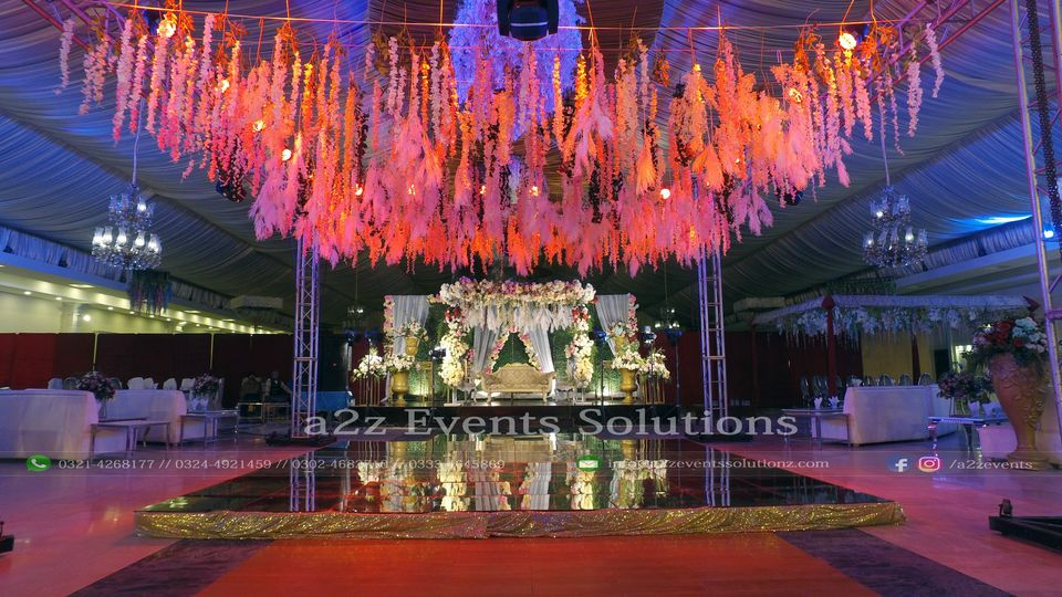 engagement event, thematic decor