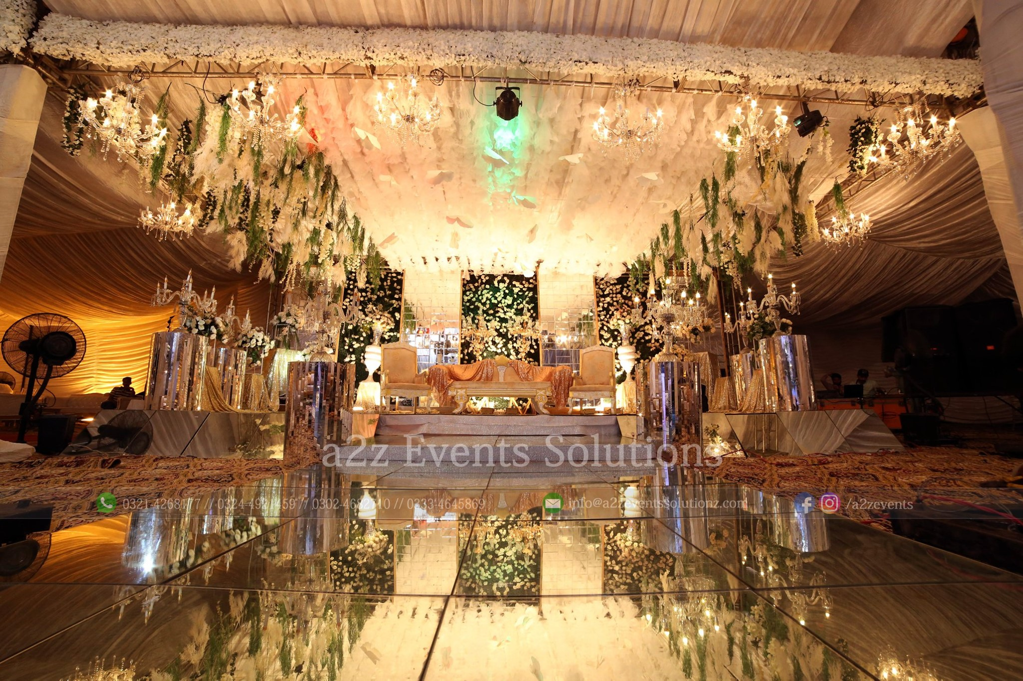 grand stage, walima stage