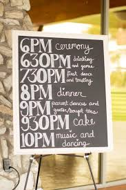 wedding setups, wedding timetable, wedding timeline