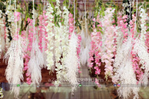 imported flowers, themed wedding