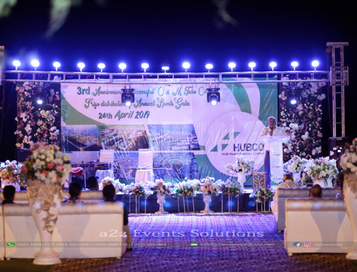 corporate stage, best caterers in lahore