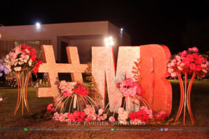 customized props, wedding specialists