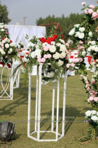 walkway decor, wedding experts