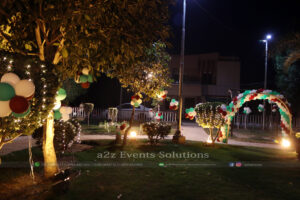 birthday party organizers in lahore, thematic setup