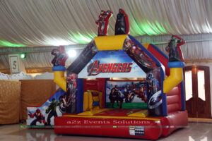 jumping castle, play area