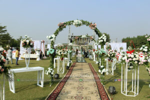 entrance decor, arch decor