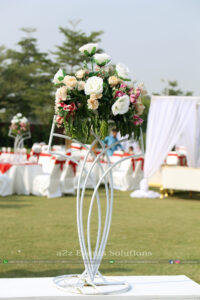 centerpieces, fresh flowers