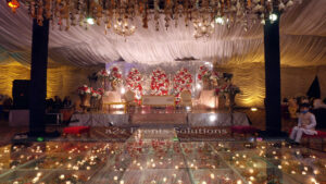 grand stage, wedding planners