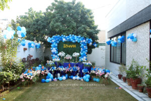 thematic birthday, outdoor event