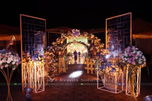 entrance decor, thematic planner
