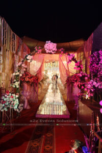 floral arch, wedding planners